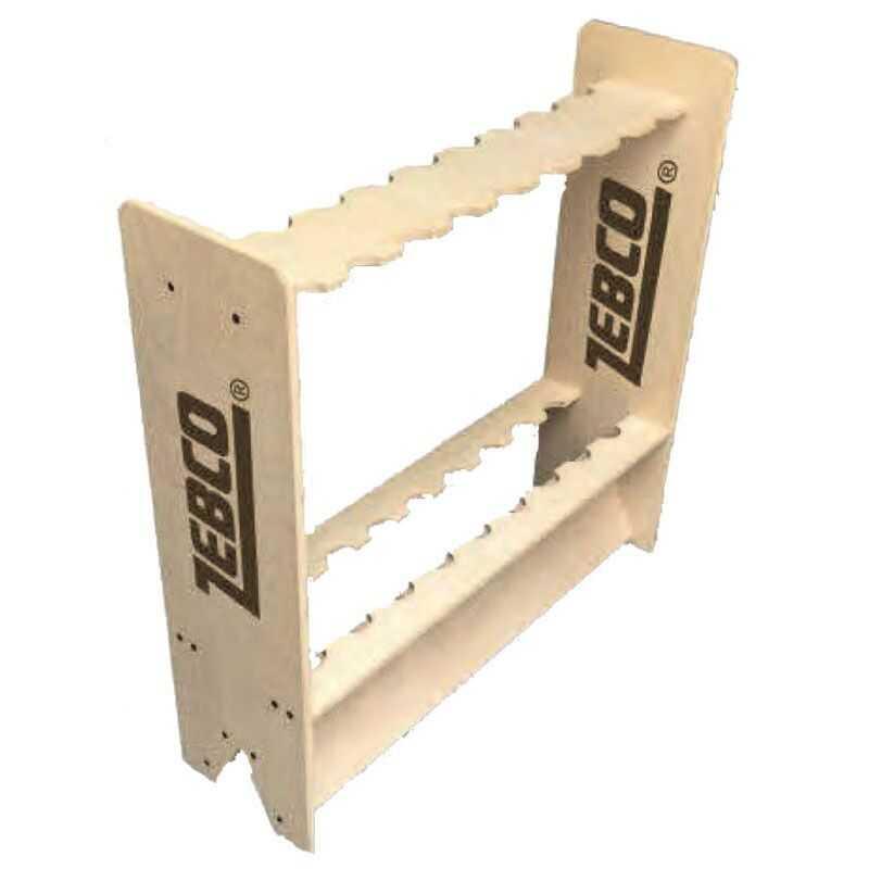 Zebco Rod Display - 70x20x70 cm