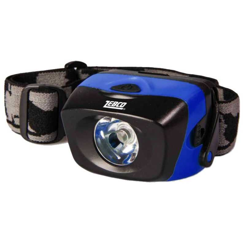 Zebco Waterproof Head Lamp - Led